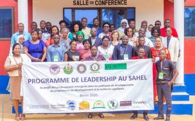 Programme de Leadership au Sahel 2020  : Les lauréats outillés pour agir en faveur des populations