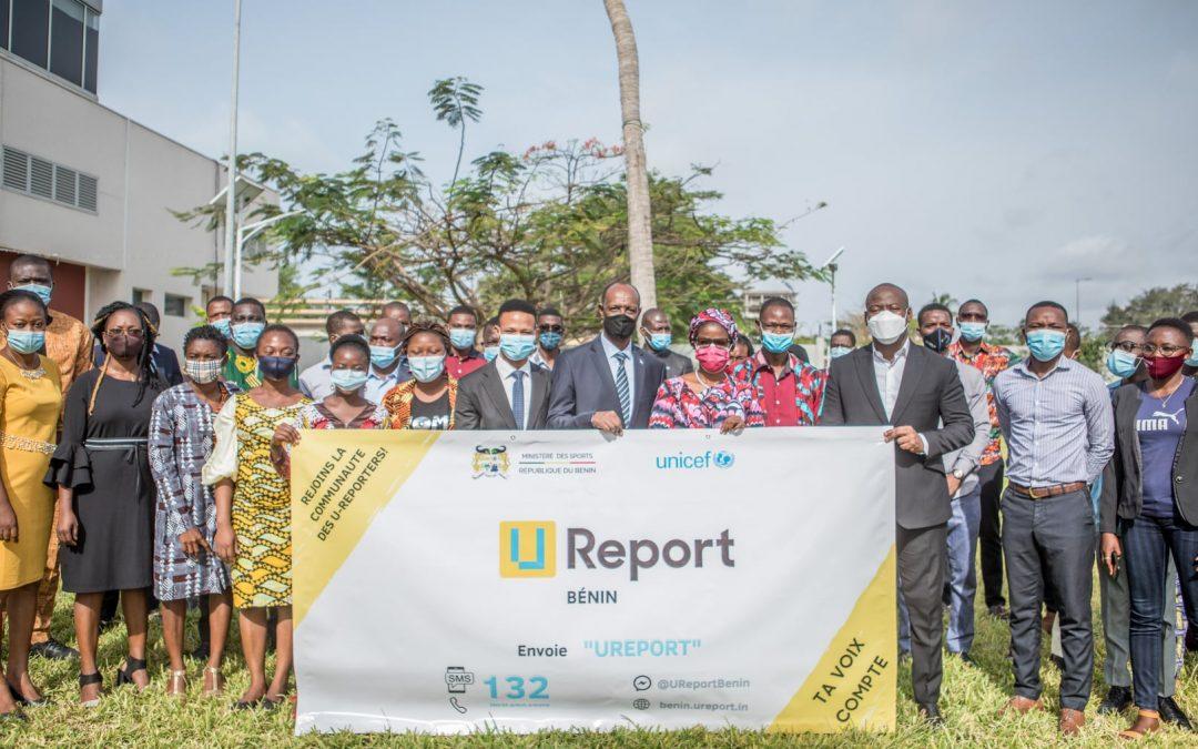 U-Report Bénin : pour que les jeunes s'informent et deviennent acteurs de changement