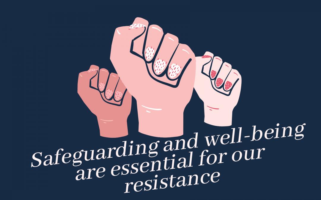Aux jeunes activistes féministes en ligne : la sauvegarde de votre bien-être est indispensable
